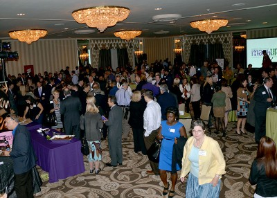 Community leaders, business owners mash, mingle at Evanston-Northwestern networking event