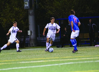 Men's Soccer: NU looks to rebound from DePaul loss