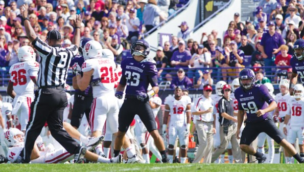 Football: Bye week still hard work for Northwestern