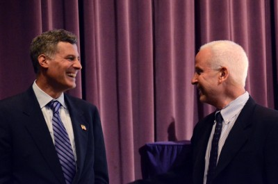 White House economic adviser speaks at Northwestern