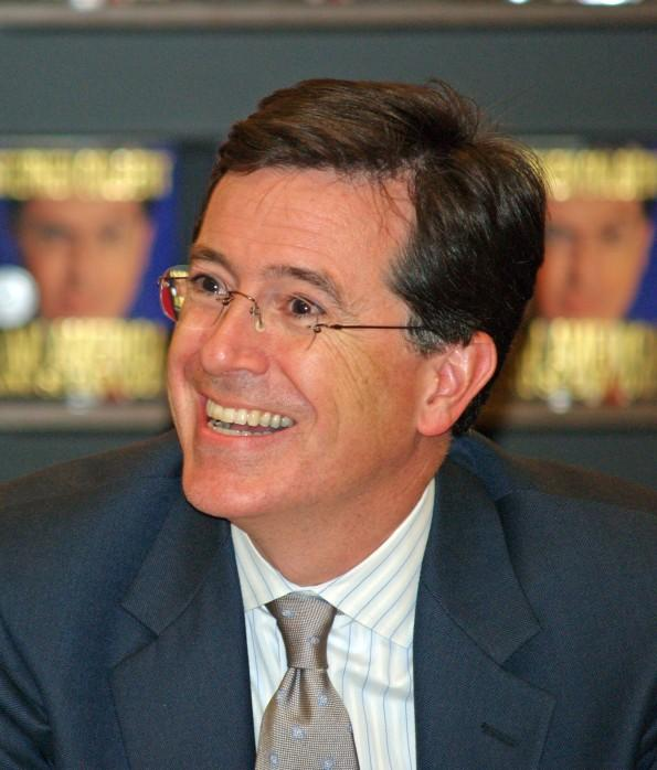 Five Words For: Stephen Colbert