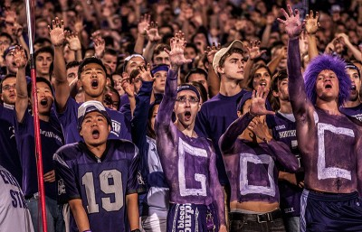 Northwestern takes 10th place in online ranking of school traditions