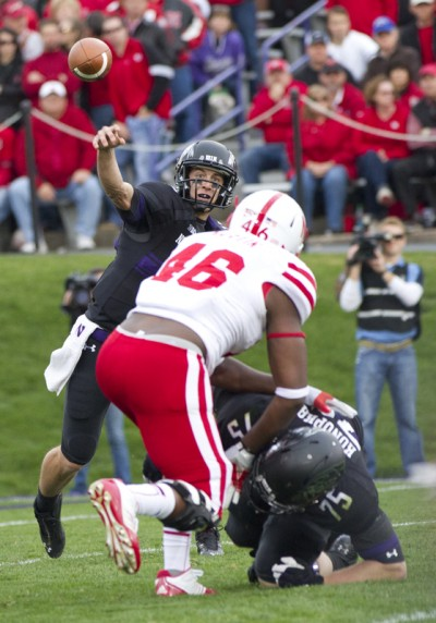 Football: Northwestern seeks to establish deep-ball threat