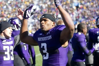 Football: Jones gives back to Northwestern and Evanston communities