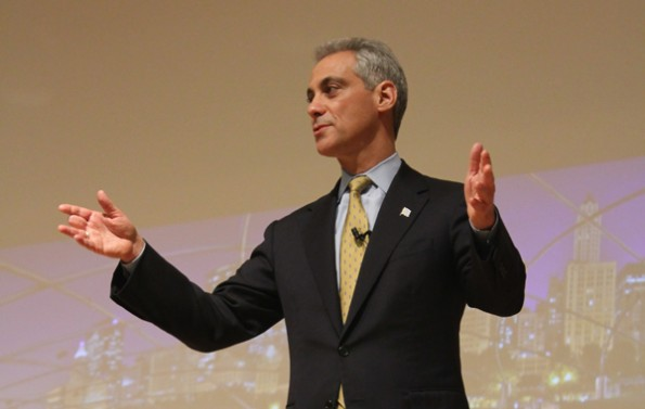 Chicago Mayor Rahm Emanuel discusses city politics, 2012 election