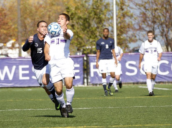 Men's Soccer: Wildcats ride halftime adjustments to tie Indiana
