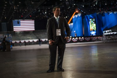 Photo gallery: Stage set for Election Night in Chicago