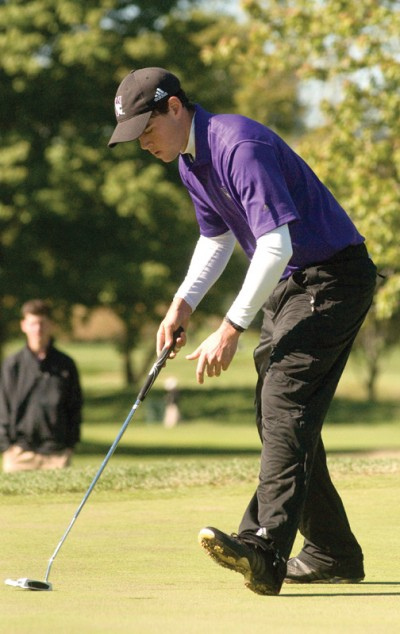 Men's Golf: Northwestern relying on top guns to lead