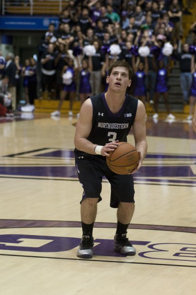 Men's Basketball: Northwestern looking to rediscover toughness against Ohio State