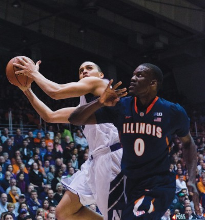 Men's Basketball: Illinois runs away from Northwestern