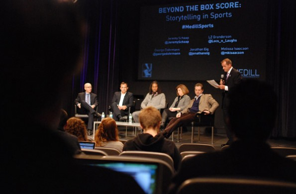 Media leaders discuss sports journalism trends at Medill panel