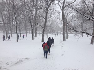 Evanston declares snow emergency for Wednesday, Thursday; parking bans issued