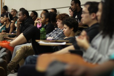 Students resume diversity talks with documentary