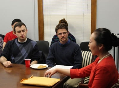 Students discuss North Korean history, politics