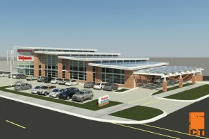 Geothermal drilling begins with construction of net-zero energy Walgreens in Evanston