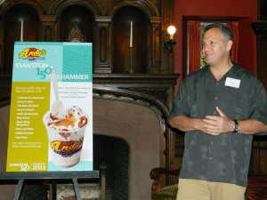 Andy's creates frozen treat to benefit Evanston150