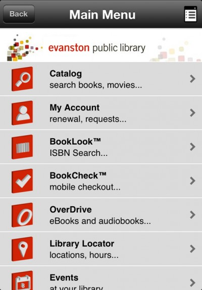 Evanston Public Library creates new smartphone app