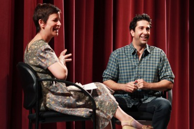 David Schwimmer returns to Northwestern roots to discuss career