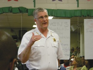 Evanston police, community members discuss recent gun violence
