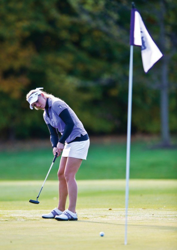 Women's Golf: Lauren Weaver helps build winner at Northwestern
