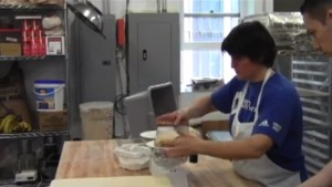 Video: Hewn Bakery opens on Dempster Street