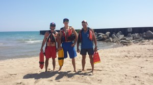 Tisdahl honors lifeguards behind rescue mission in Lake Michigan