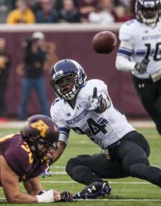 Football: Junior safety Ibraheim Campbell dominates defense