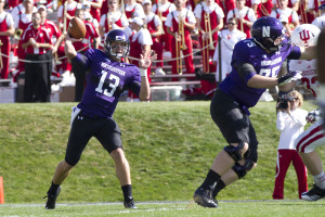 Football: Despite early adversity, Wildcats rally past Golden Bears