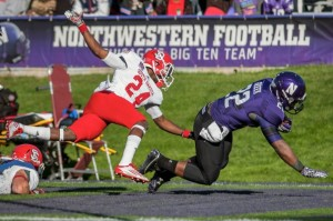 Football: Northwestern overcomes injuries to knock off Cal