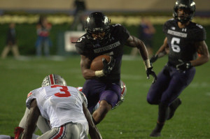 Football: Venric Mark out for season with ankle fracture
