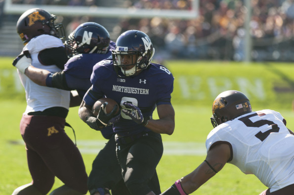Football: Northwestern drops third straight as Minnesota scores road upset