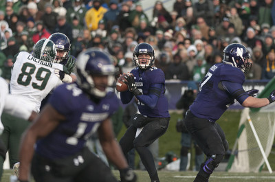 Football: Michigan State dominates Northwestern in final home game for seniors