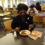 Ellery Hampton has become a beloved face at Allison Dining Hall, where she has worked for the past nine years. She said her favorite part about her job is getting to meet the many people who pass through Allison.