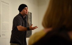 Spoken word artist Guante helps students connect art, activism