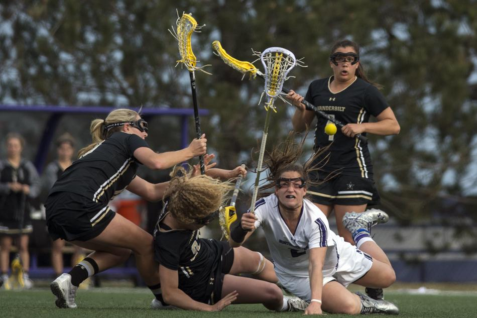 Lacrosse: Wildcats outmaneuver Commodores in home stand opener