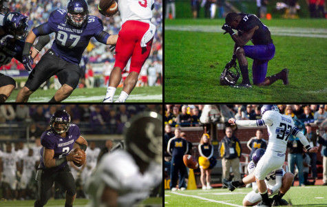 Four former Northwestern players sign with NFL teams