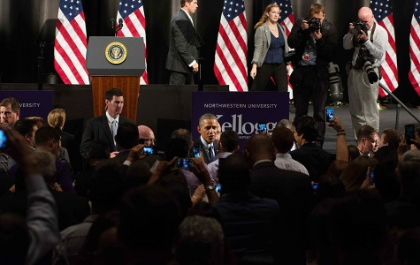 Captured: Obama's visit to Northwestern