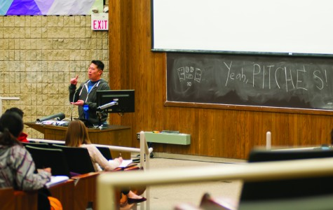 Students pitch ideas at entrepreneurship event
