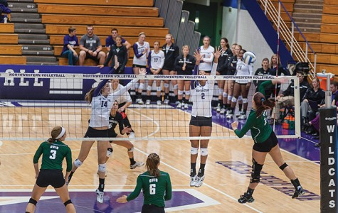 Volleyball: Wildcats conclude brutal road trip with loss to Iowa