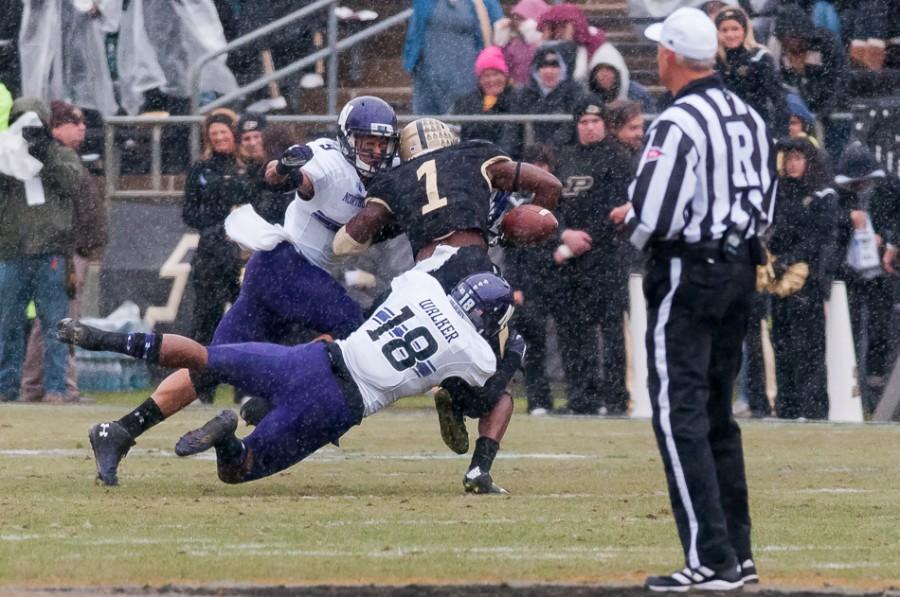 Football: Quick start springs Northwestern past Purdue