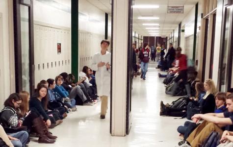 Evanston Township High School students protest Brown, Garner decisions