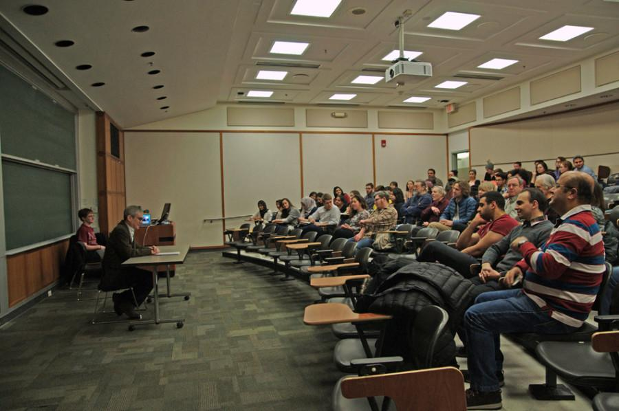 Rabbi speaks at NUDivest event on Israel-Palestine conflict