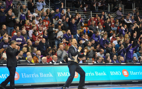 Men's Basketball: Northwestern withstands late charge, buries Hoosiers for fourth straight win