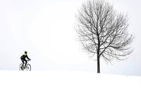 Captured: Evanston hit by winter blizzard
