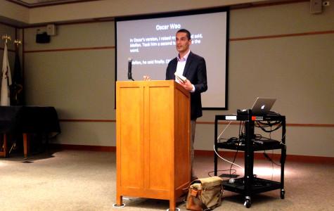 Northwestern professor talks competition in Latino-American literature