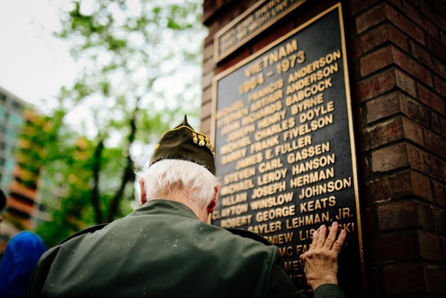 Captured: Memorial Day in Evanston