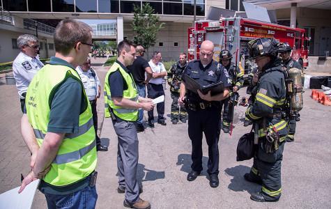 Northwestern finishes three days of emergency training at Tech
