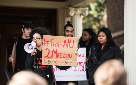 Captured: Protesters march in support of Missouri students, disrupt groundbreaking ceremony