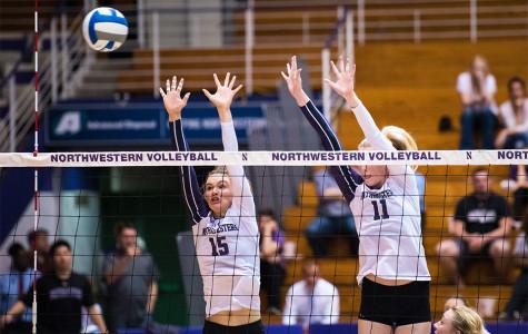Volleyball: Northwestern sweeps season series against Iowa