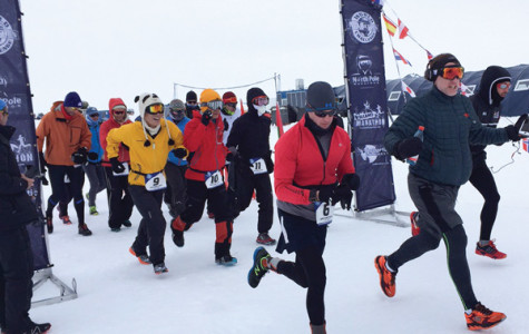 7 Marathons, 7 Continents, 7 Days: Through pain and fatigue, a Northwestern Naval ROTC instructor completes global journey
